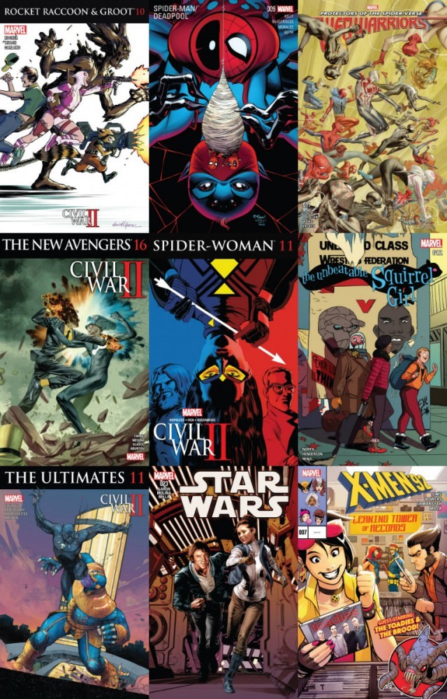 Collection Marvel (28.09.2016, week 39)