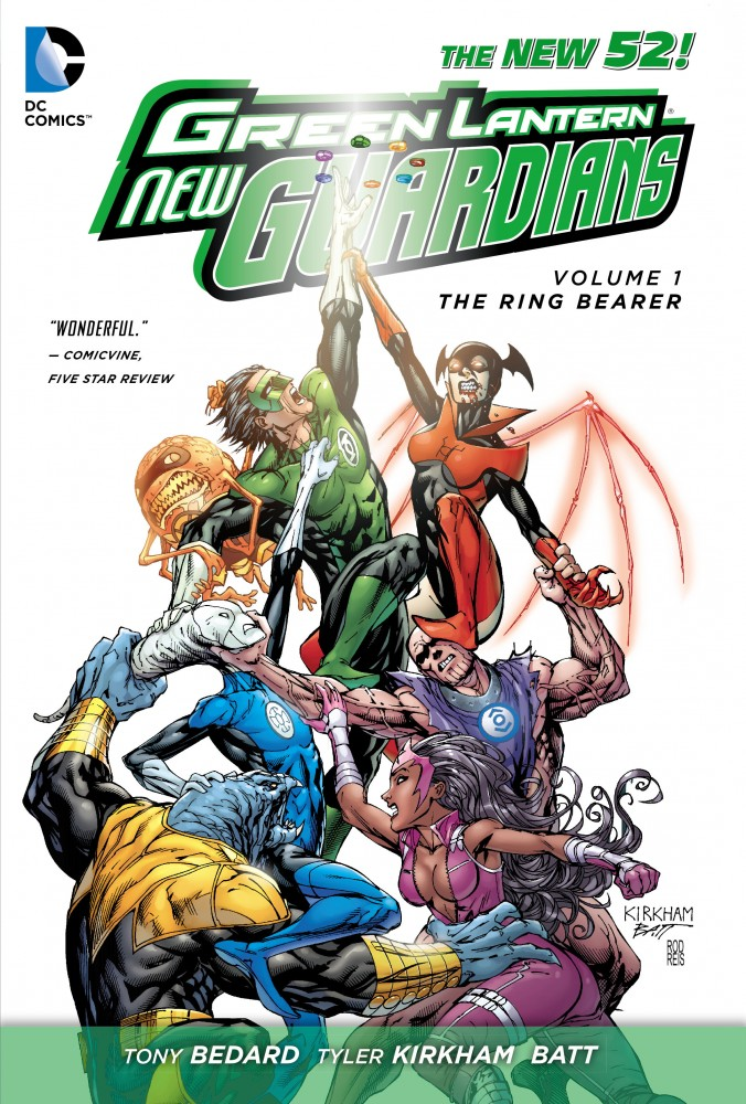 Green Lantern - New Guardians Vol.1 - The Ring Bearer