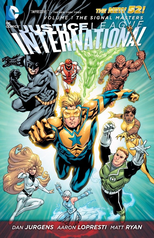 Justice League International Vol.1 - The Signal Masters