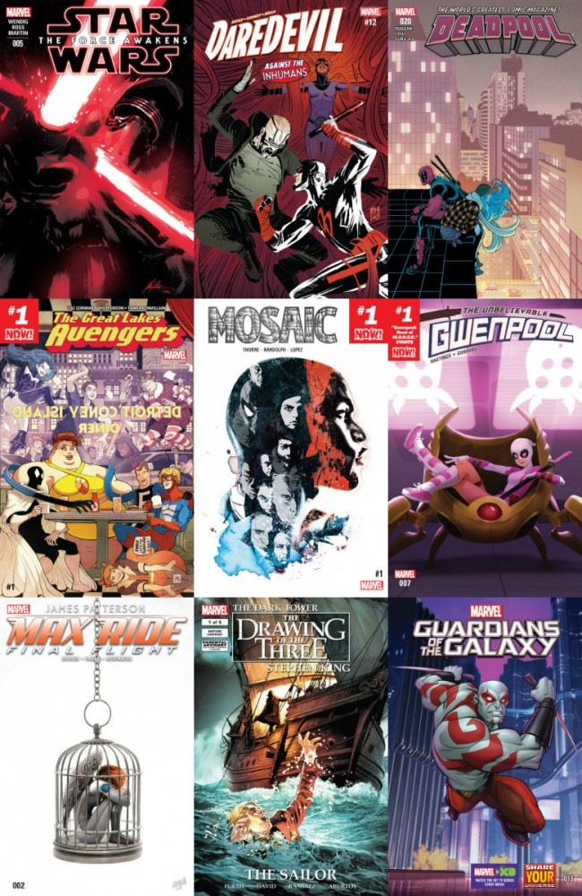 Collection Marvel (12.10.2016, week 41)