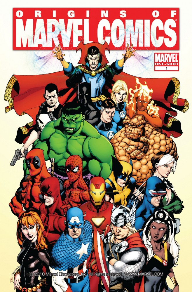 Origins of Marvel Comics #1 » Download Free CBR, CBZ ...
