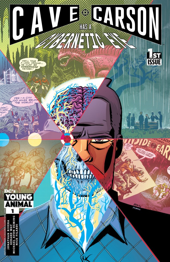 Download Cave Carson Has a Cybernetic Eye #1