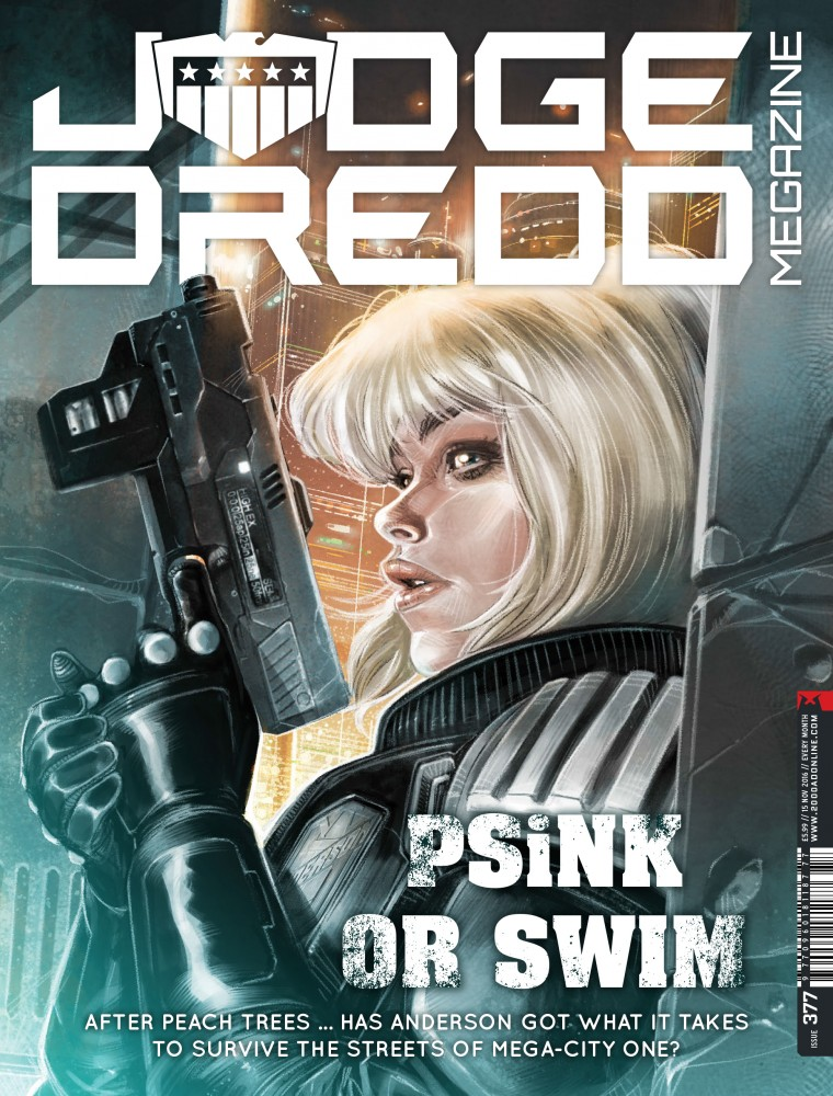Judge Dredd The Megazine #377