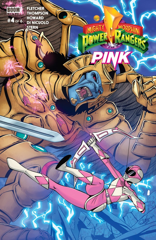 Mighty Morphin' Power Rangers – Pink #4