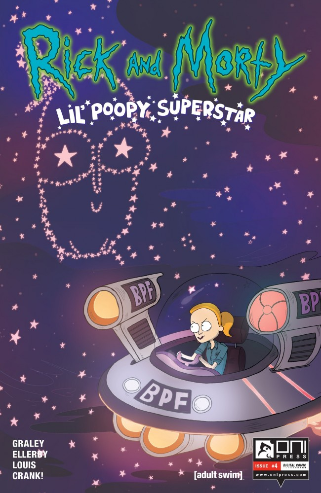 Rick and Morty: Lil' Poopy Superstar #4