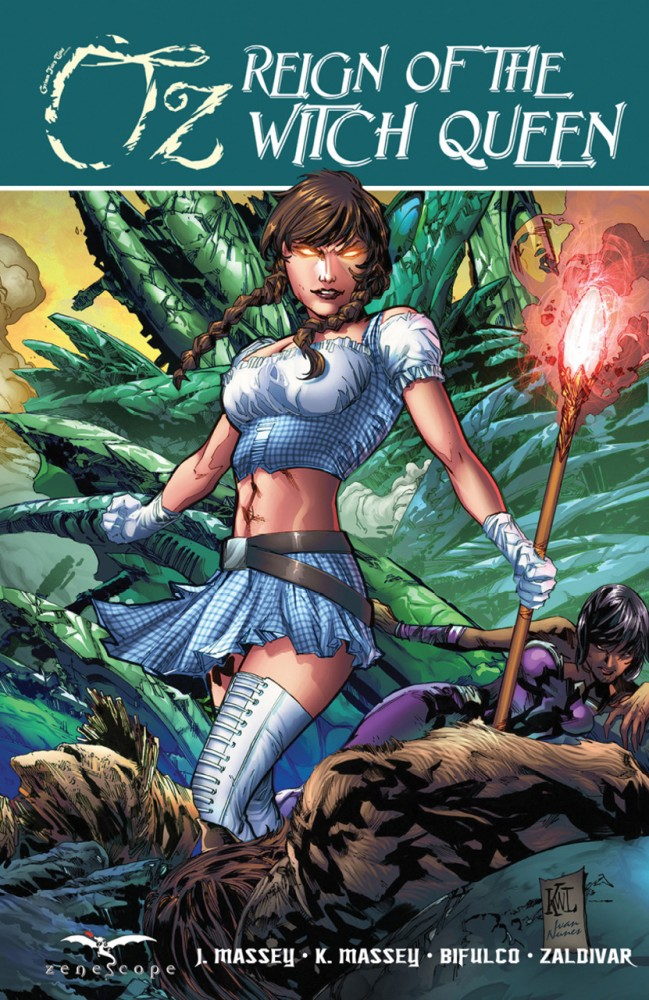 Grimm Fairy Tales Oz Reign of the Witch Queen Vol.1