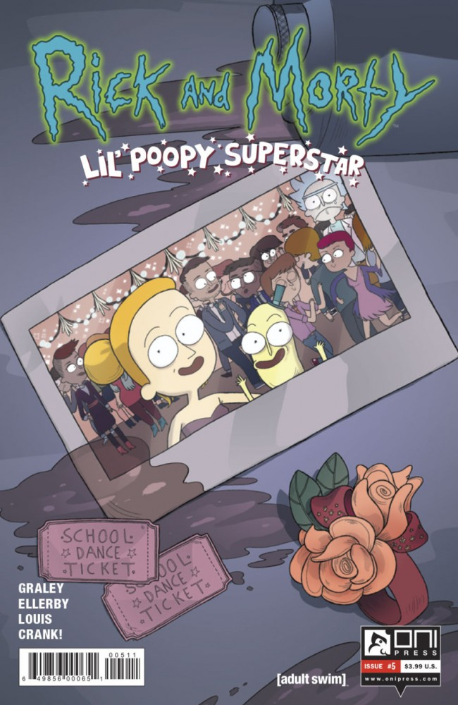 Rick and Morty: Lil' Poopy Superstar #5