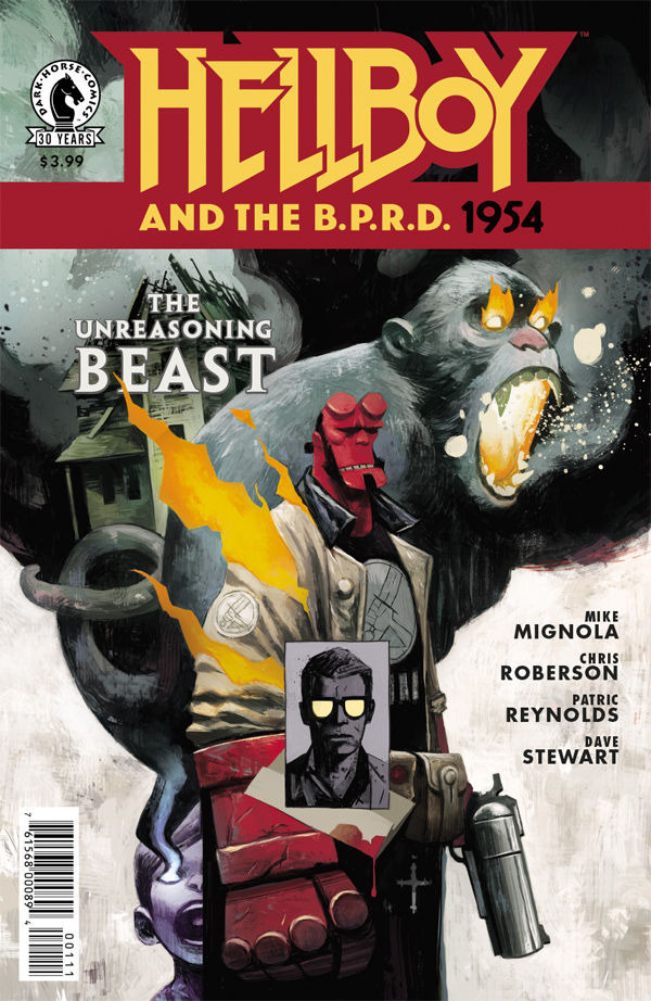 Hellboy and the B.P.R.D. - 1954 - The Unreasoning Beast #1