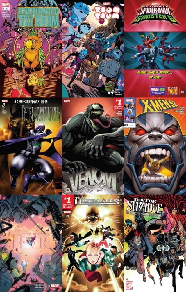 Collection Marvel (23.11.2016, week 47)
