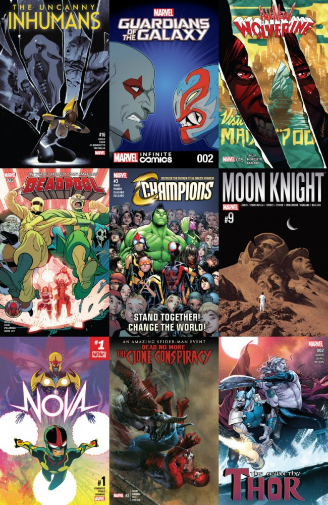 Collection Marvel (07.12.2016, week 49)