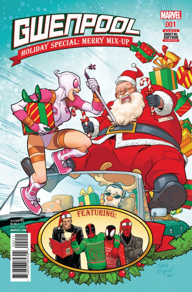 Gwenpool Holiday Special - Merry Mix-Up #1