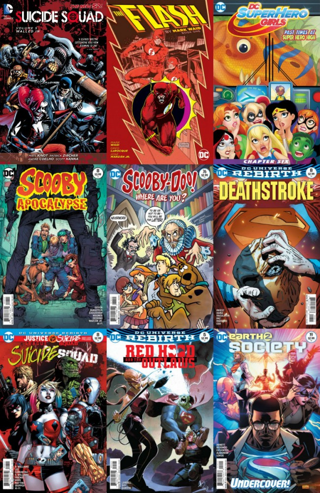 DC week – The New 52 (14.12.2016, week 50)