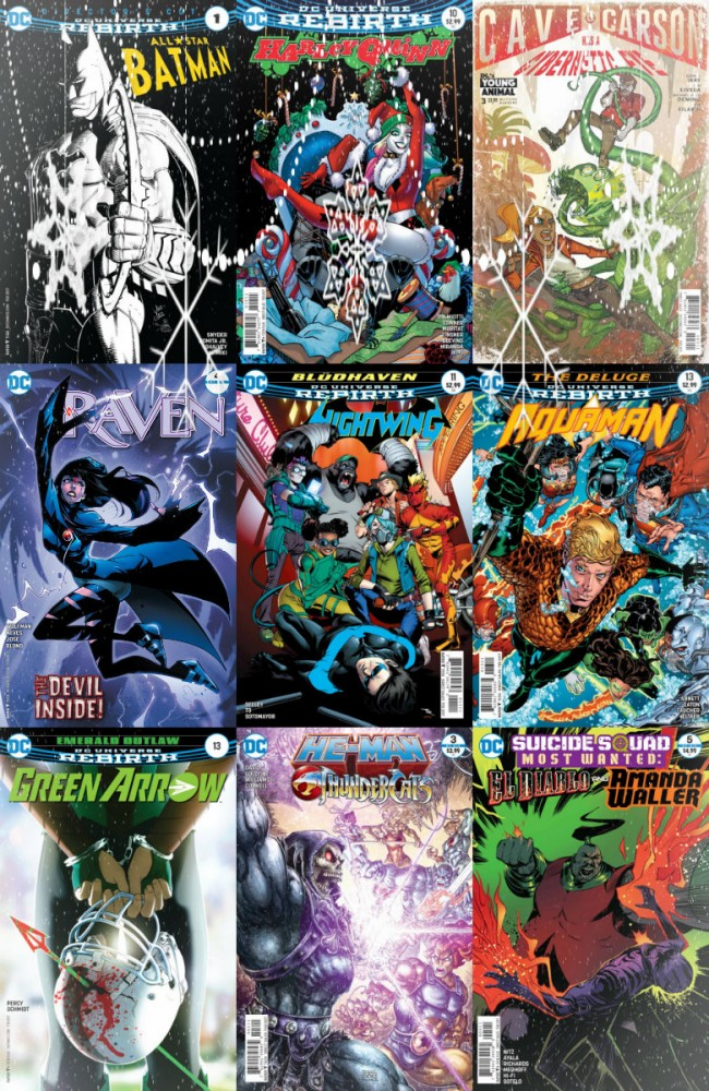 DC week – The New 52 (21.12.2016, week 51)