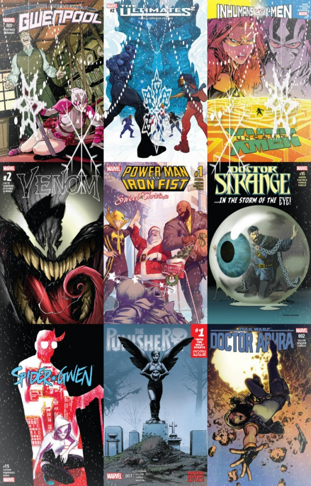 Collection Marvel (21.12.2016, week 51)
