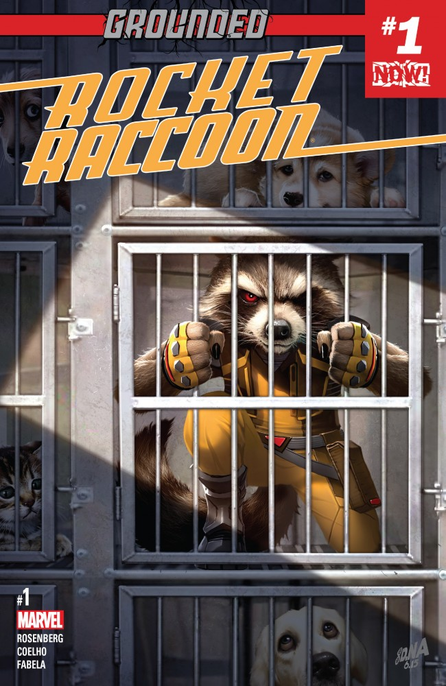 Rocket Raccoon #01