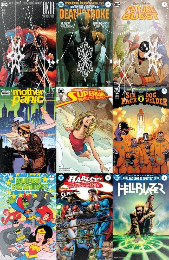 DC comics week (28.12.2016, week 52)