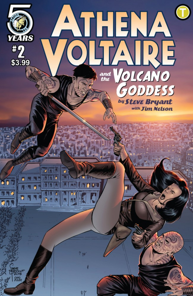 Athena Voltaire and the Volcano Goddess #2