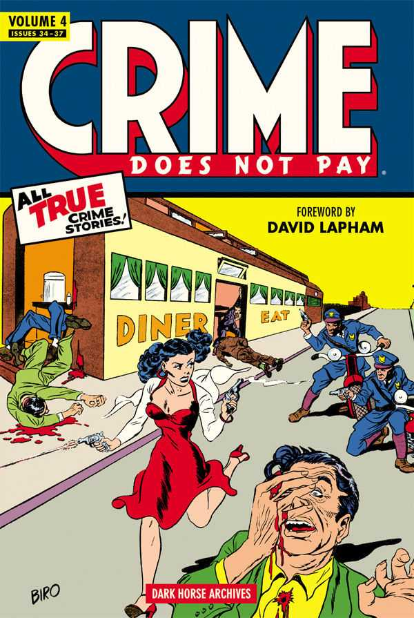 Crime Does Not Pay Archives Vol.4