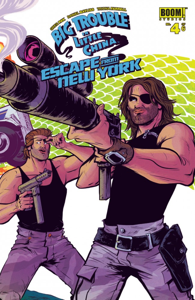 Big Trouble in Little China Escape From New York #4