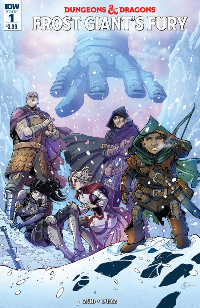 Download Dungeons & Dragons Frost Giant's Fury #1