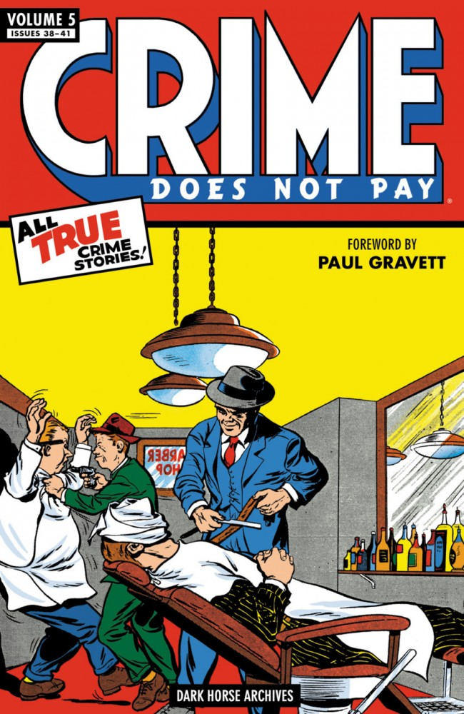 Crime Does Not Pay Archives Vol.5