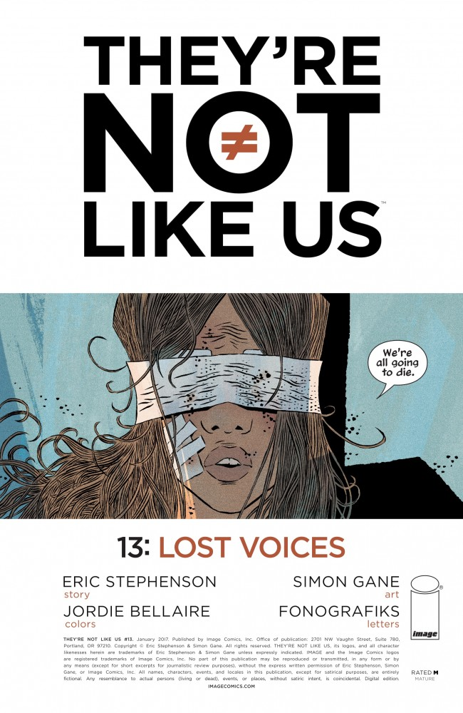 Download They're Not Like Us #13