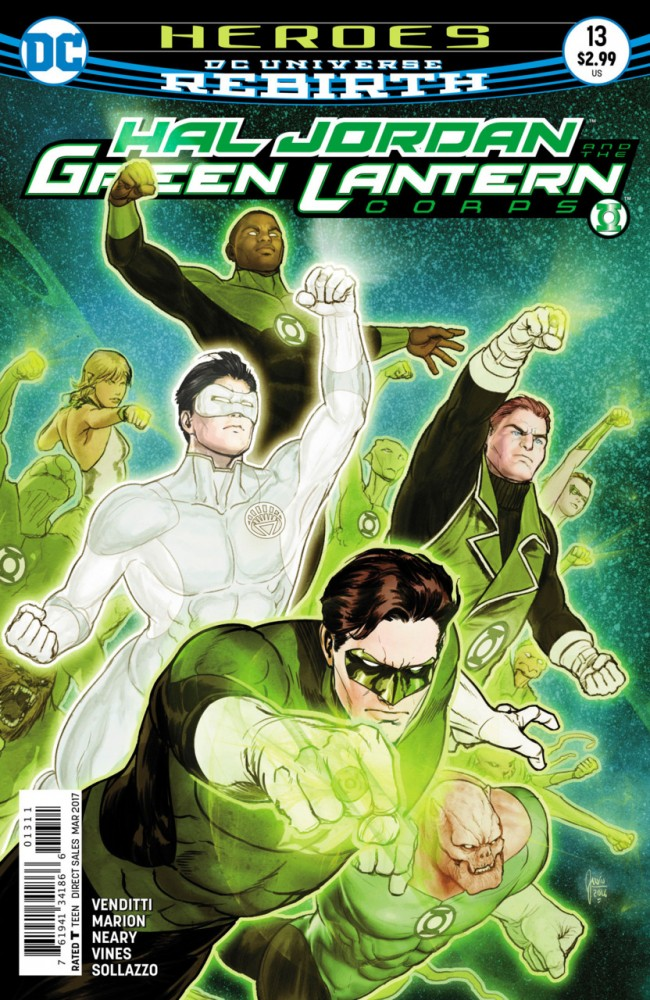 Download Hal Jordan And The Green Lantern Corps #13