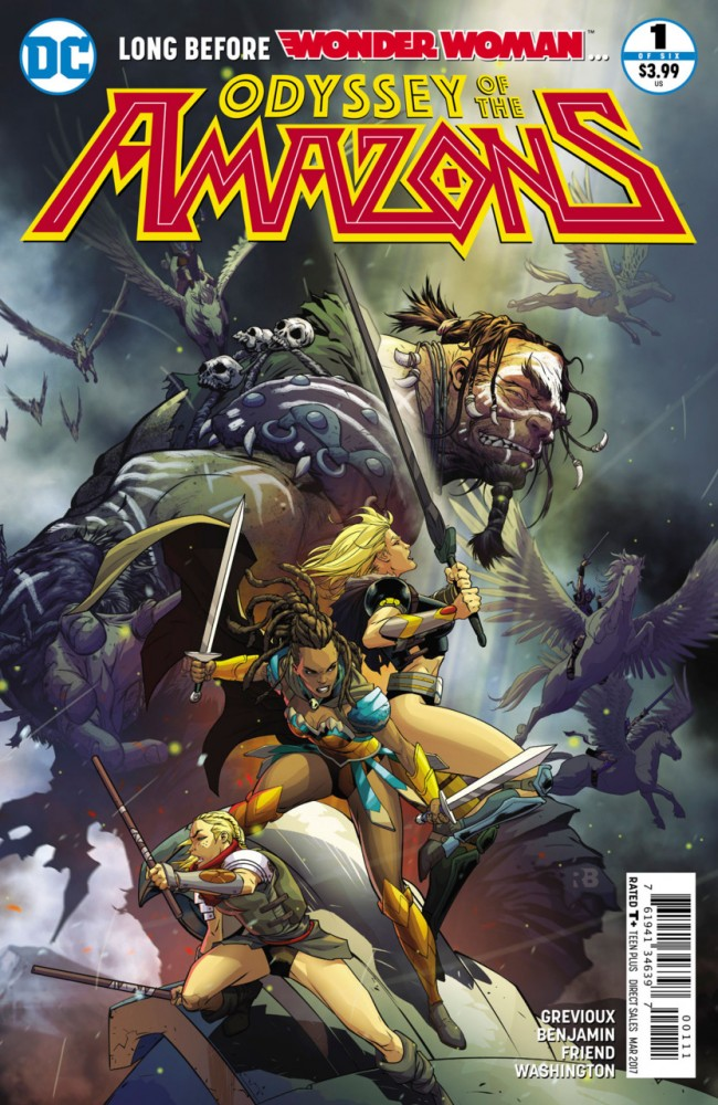 Download The Odyssey of the Amazons #1