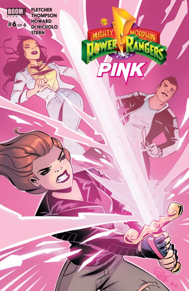 Mighty Morphin' Power Rangers – Pink #6