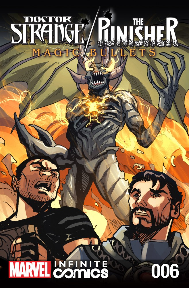 Download Doctor Strange - The Punisher - Magic Bullets Infinite Comic #6