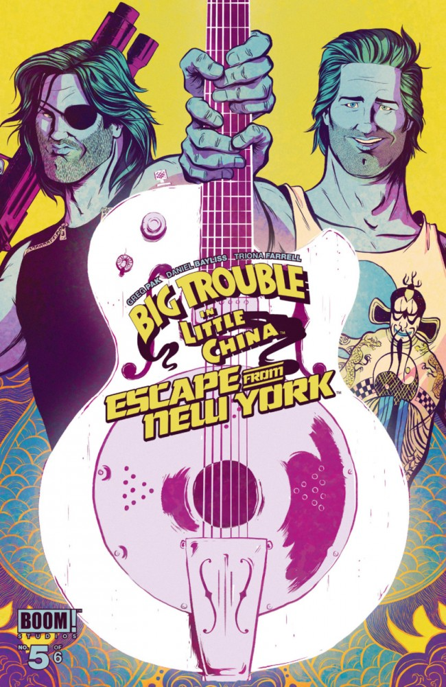 Big Trouble in Little China Escape From New York #5