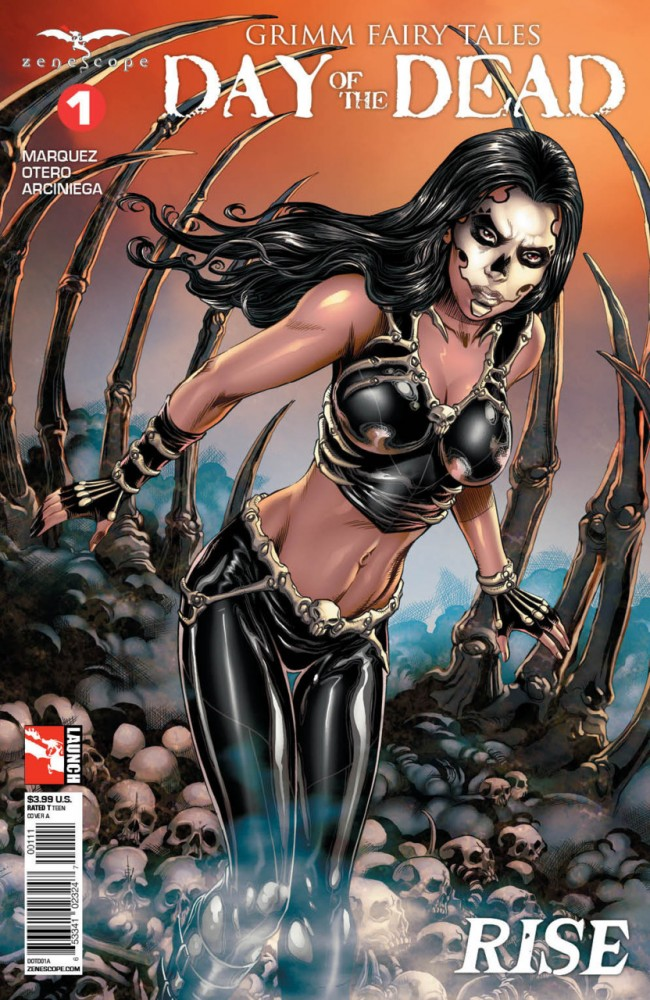 Grimm Fairy Tales Day of the Dead #1