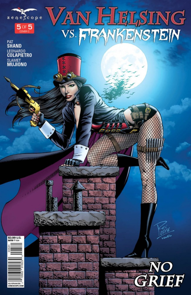 Download Van Helsing Vs Frankenstein #5