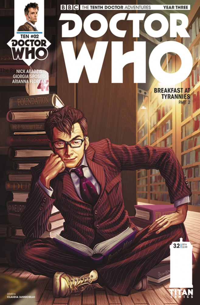 Doctor Who - The Tenth Doctor Year Three #2