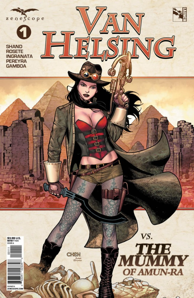 Download Van Helsing Vs The Mummy Of Amun-Ra #1