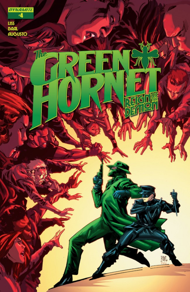 The Green Hornet - Reign of the Demon #4
