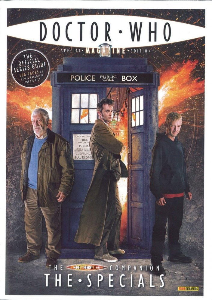Doctor Who Magazine Special Edition #25 - The Doctor Who Companion - The Specials