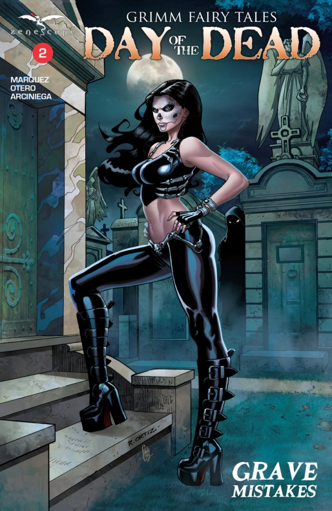 Grimm Fairy Tales Day of the Dead #2