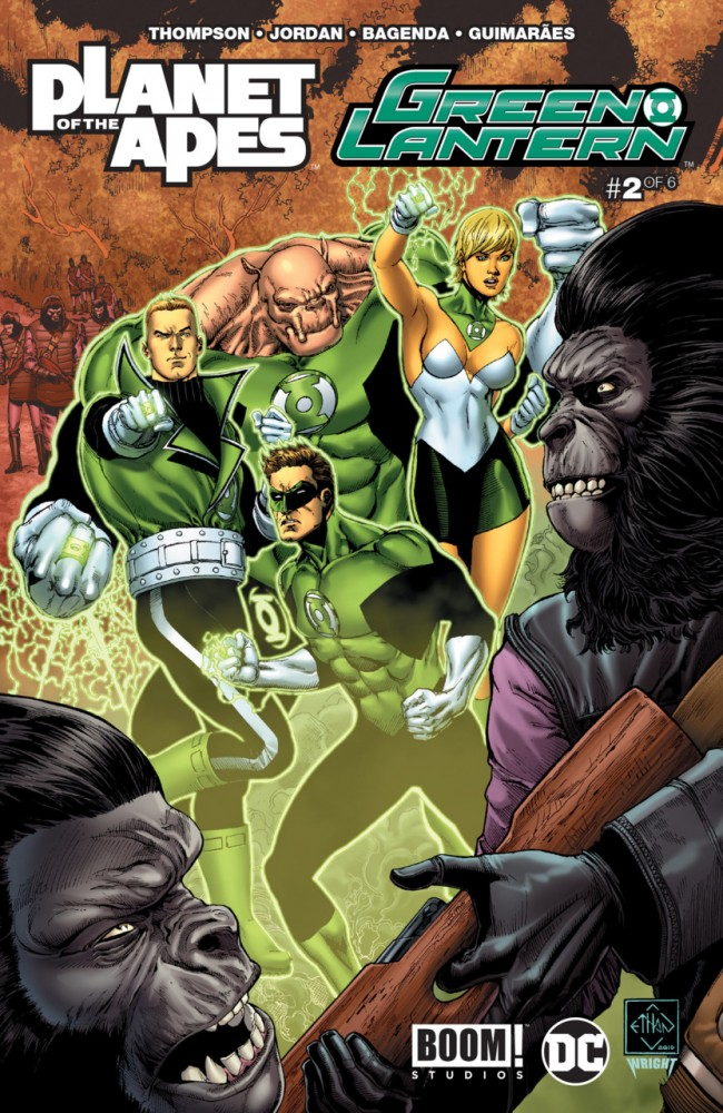 Planet of the Apes - Green Lantern #2