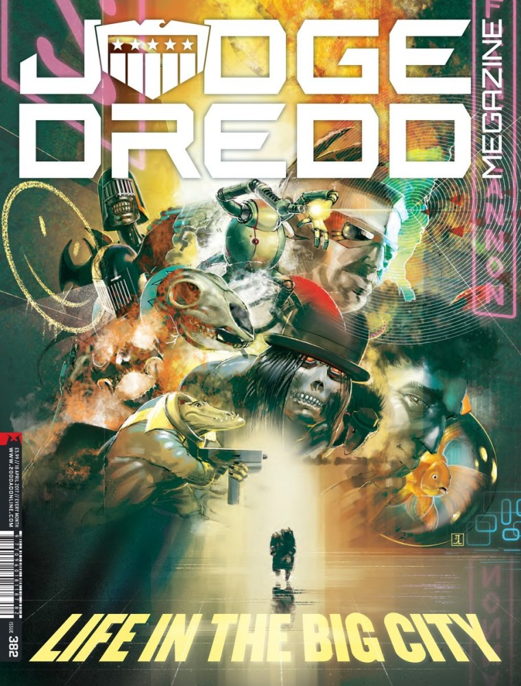 Judge Dredd The Megazine #382