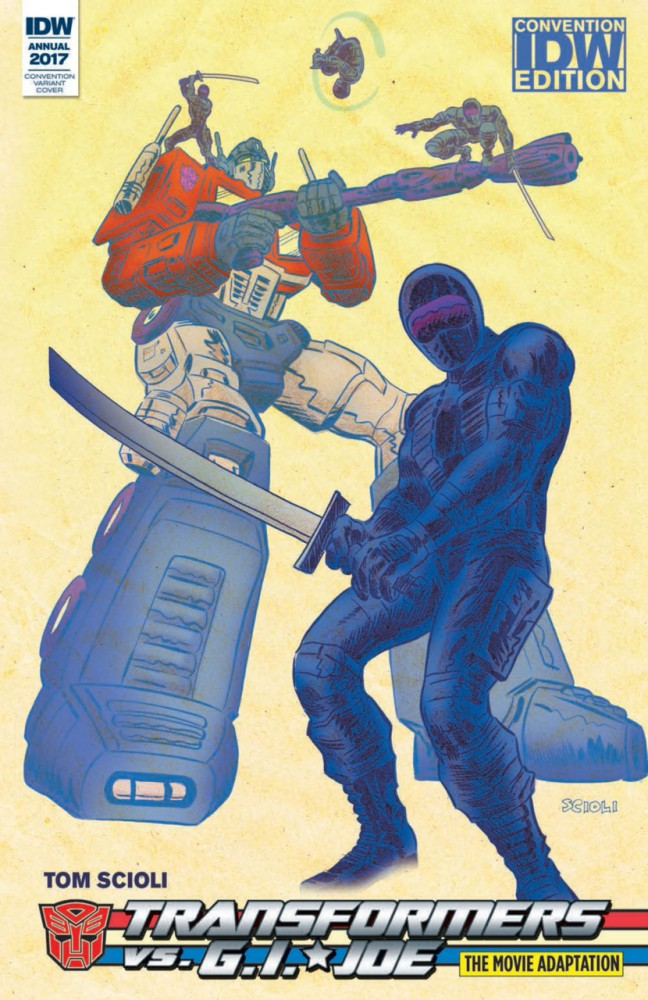 The Transformers vs. G.I. JOE - The Movie Adaptation #1