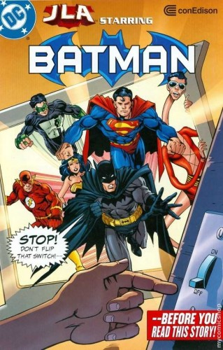 Con Edison Presents - JLA Starring Batman #1
