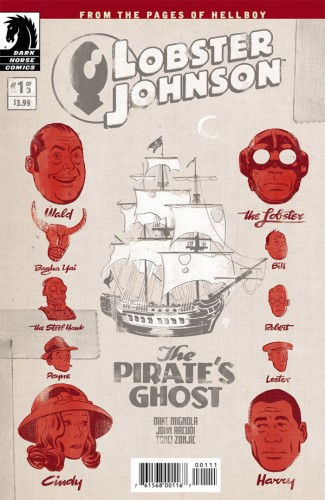 Lobster Johnson - The Pirate's Ghost #1