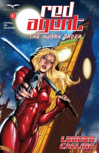 Grimm Fairy Tales Presents - Red Agent - The Human Order #5
