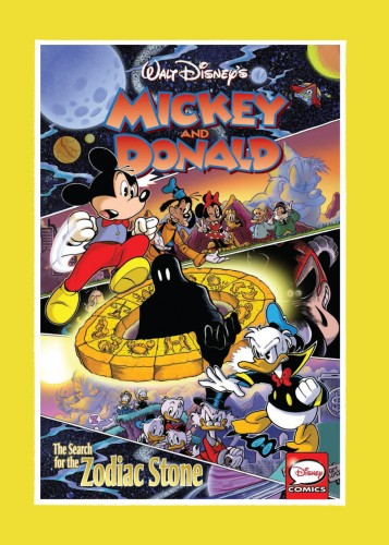 Mickey and Donald - The Search for the Zodiac Stone #1 - HC