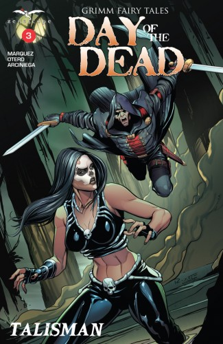 Grimm Fairy Tales Day of the Dead #3