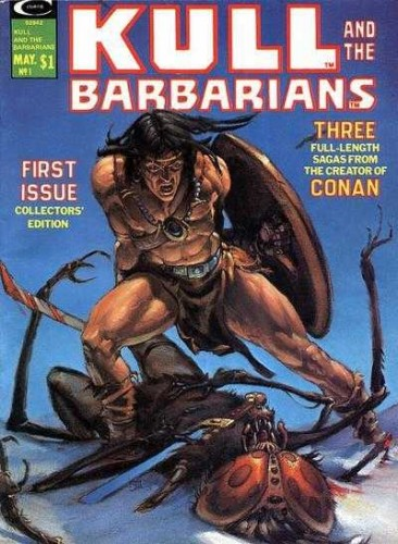 Kull and the Barbarians #1-3 Complete