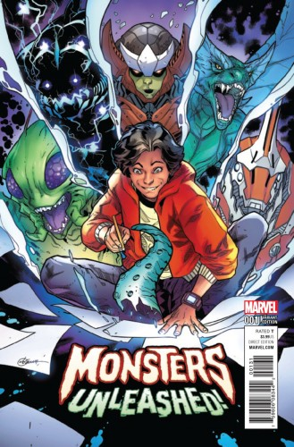 Monsters Unleashed Vol.2 #1