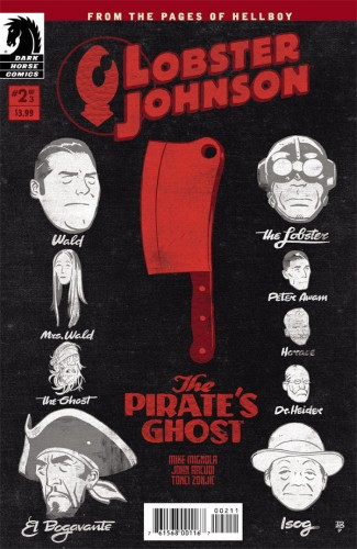 Lobster Johnson - The Pirate's Ghost #2