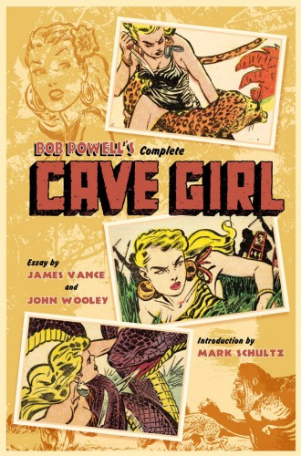 Bob Powell's Complete Cave Girl #1 - HC
